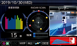 ZERO 807LV画面